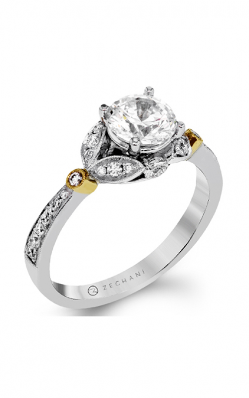 Zeghani Nature Lover Engagement ring ZR1390 product image