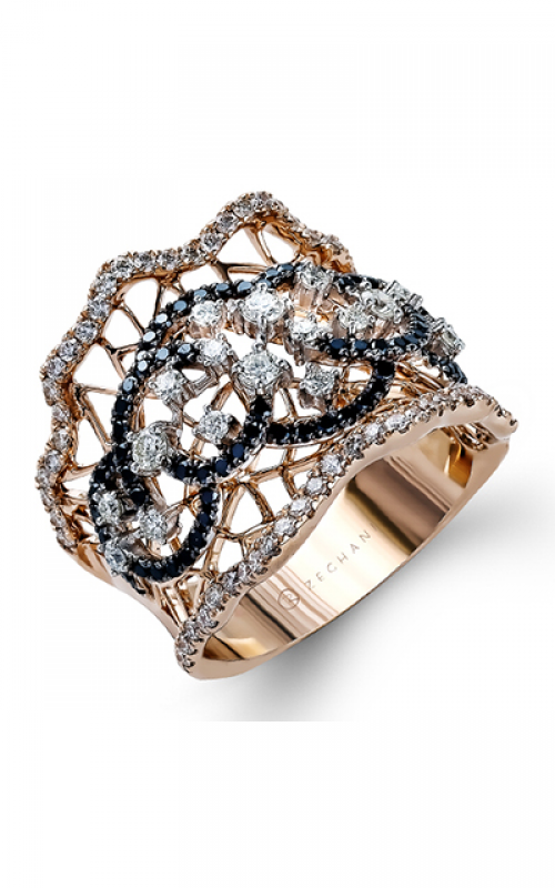 Zeghani Refined Rebel Fashion ring ZR1015 product image