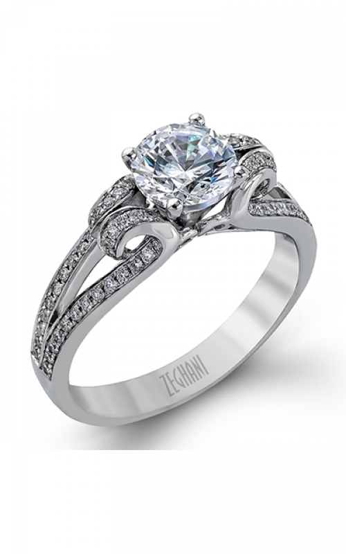 Zeghani Nature Lover Engagement ring ZR1018 product image
