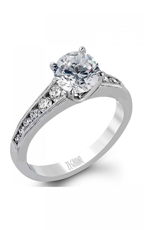 Zeghani Vintage Vixen Engagement ring ZR1034 product image