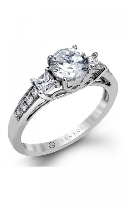 Zeghani Delicate Diva Engagement ring ZR1110 product image