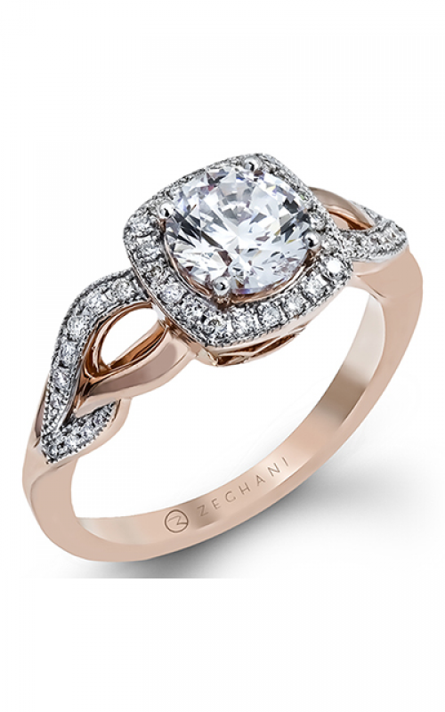 Zeghani Refined Rebel Engagement ring ZR1135 product image