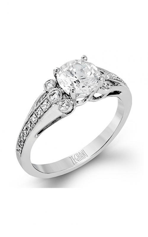 Zeghani Vintage Vixen Engagement ring ZR1336 product image