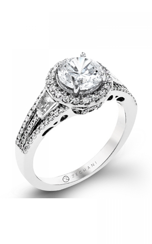 Zeghani Blindingly Beautiful Engagement ring ZR1316 product image