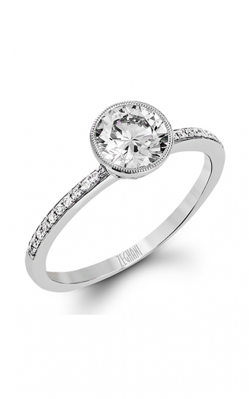 Zeghani Refined Rebel Engagement ring ZR1301 product image