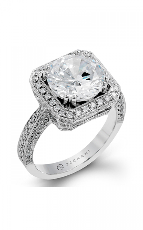 Zeghani Blindingly Beautiful Engagement ring ZR1285 product image