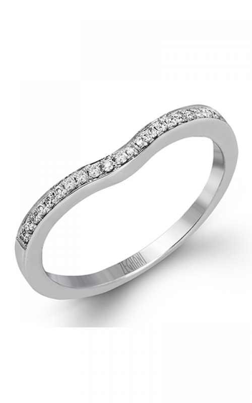Zeghani Blindingly Beautiful Wedding band ZR1137 product image