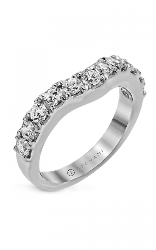 Zeghani Delicate Diva Wedding band ZR1144 product image