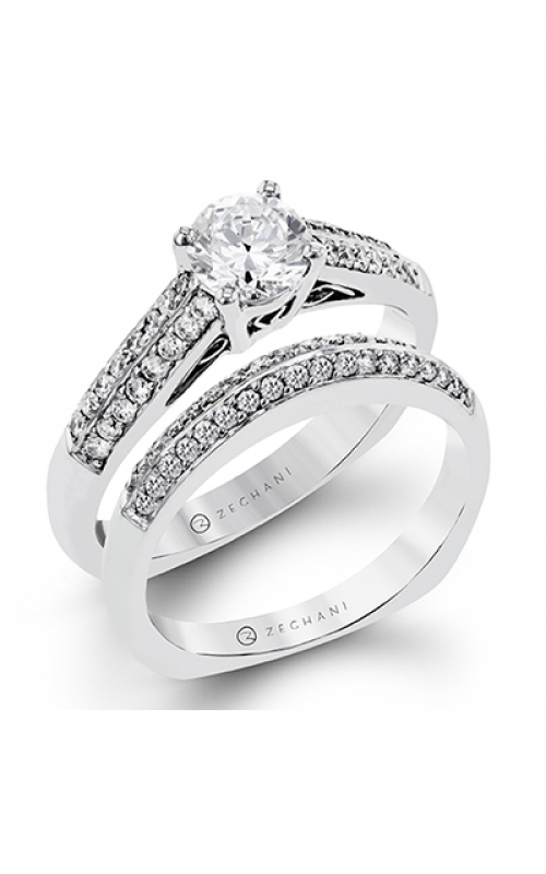 Zeghani Blindingly Beautiful Engagement ring ZR115 product image