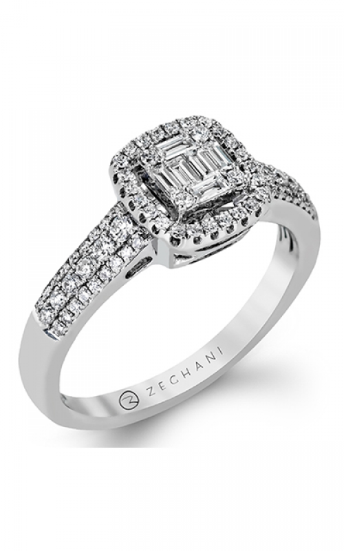 Zeghani Vintage Vixen Engagement ring ZR1157 product image