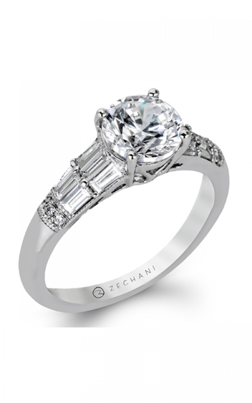 Zeghani Vintage Vixen Engagement ring ZR1164 product image