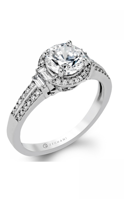 Zeghani Vintage Vixen Engagement ring ZR1165 product image