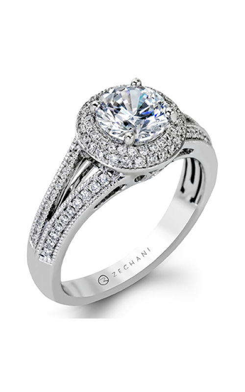 Zeghani Vintage Vixen Engagement ring ZR1170 product image