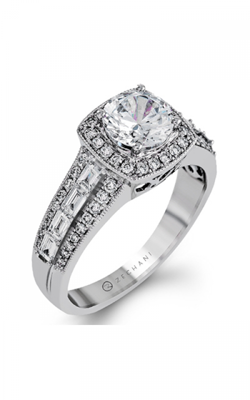 Zeghani Vintage Vixen Engagement ring ZR1172-A product image
