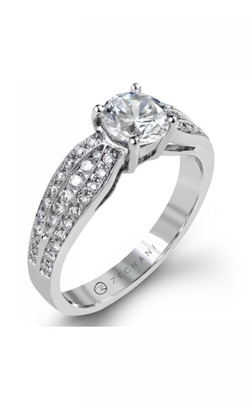 Zeghani Blindingly Beautiful Engagement ring ZR1180 product image