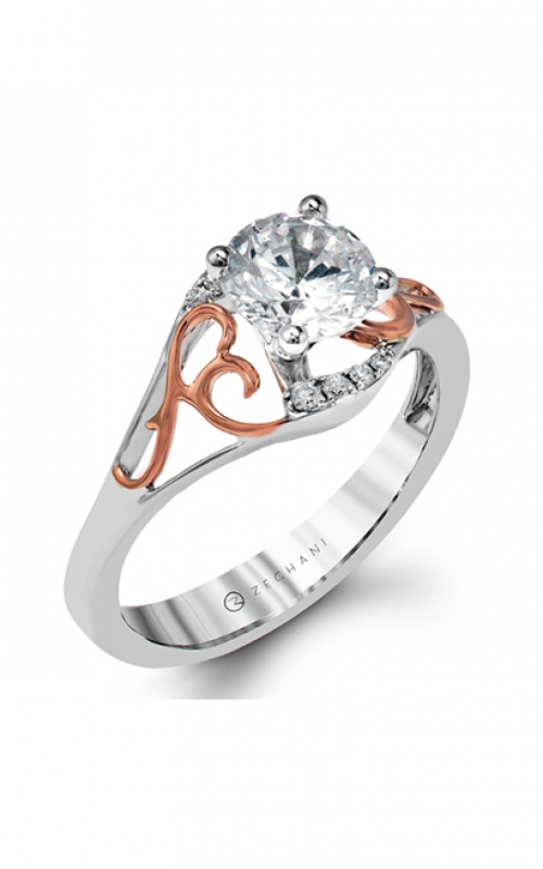 Zeghani Refined Rebel Engagement ring ZR1189 product image