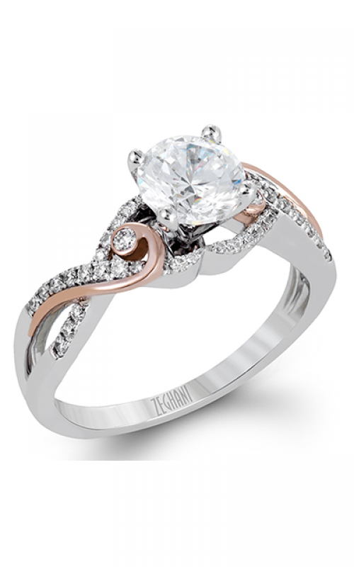 Zeghani Nature Lover Engagement ring ZR1198 product image