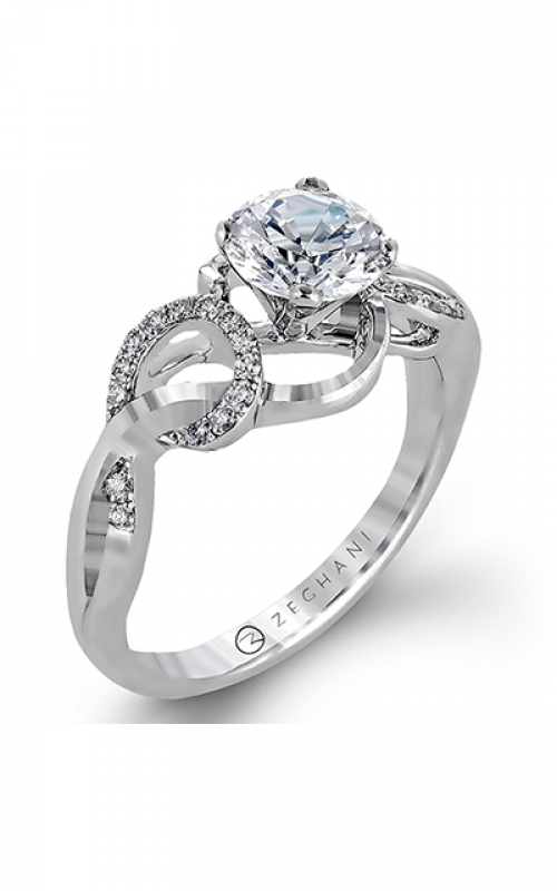 Zeghani Nature Lover Engagement ring ZR1201 product image