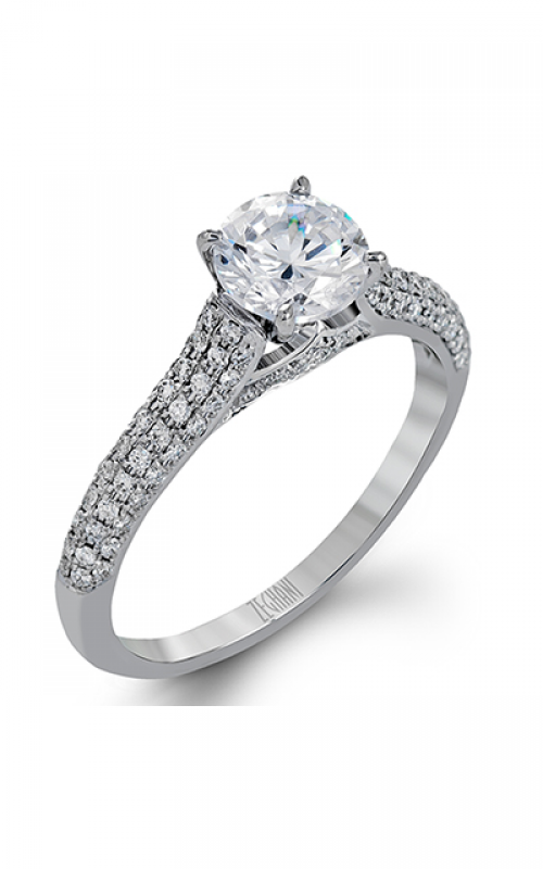 Zeghani Blindingly Beautiful Engagement ring ZR1223 product image