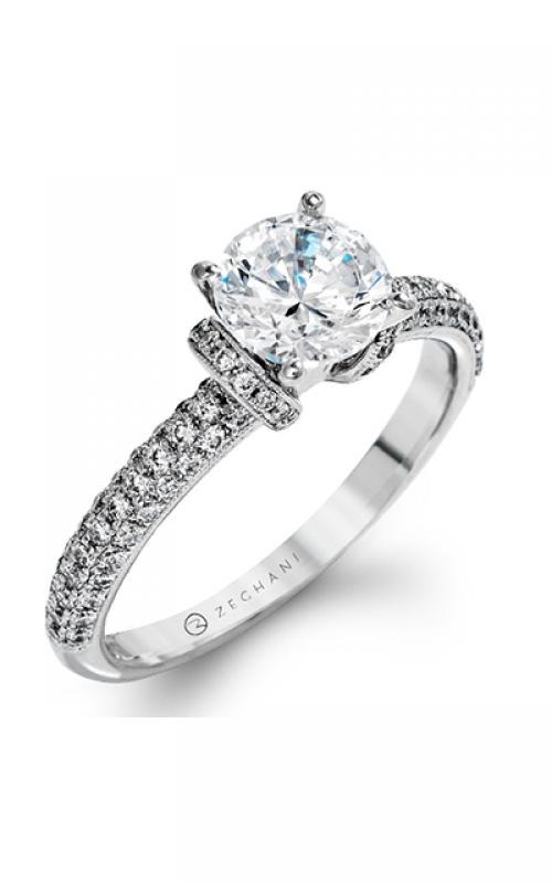 Zeghani Blindingly Beautiful Engagement ring ZR1225 product image