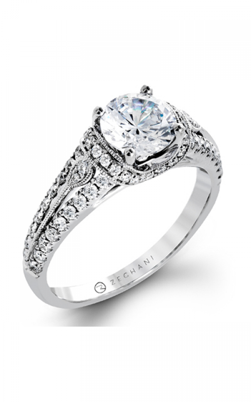 Zeghani Vintage Vixen Engagement ring ZR1241 product image