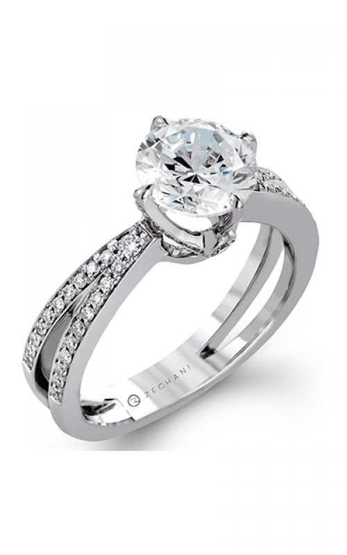 Zeghani Refined Rebel Engagement ring ZR1244 product image