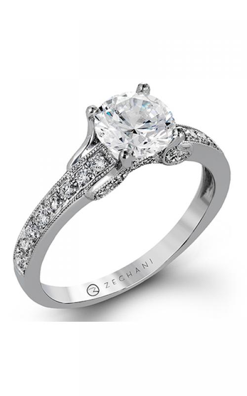 Zeghani Vintage Vixen Engagement ring ZR1248 product image