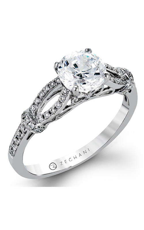 Zeghani Vintage Vixen Engagement ring ZR1249 product image