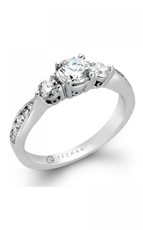 Zeghani Delicate Diva Engagement ring ZR126 product image