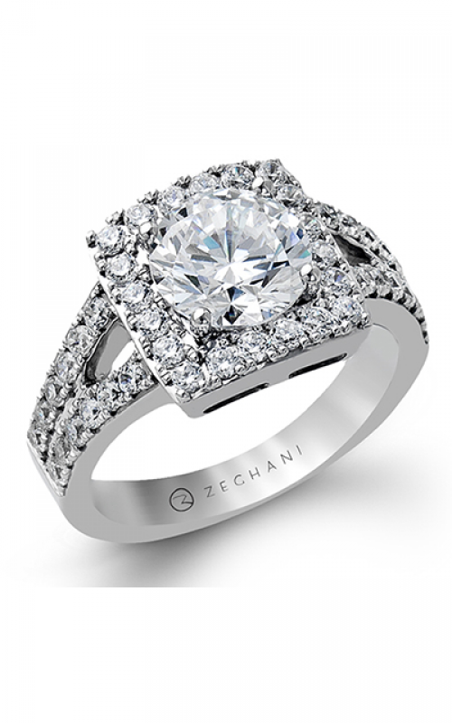 Zeghani Refined Rebel Engagement ring ZR1283 product image