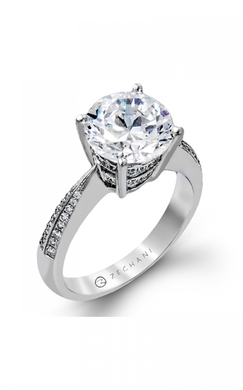 Zeghani Vintage Vixen Engagement ring ZR1284 product image