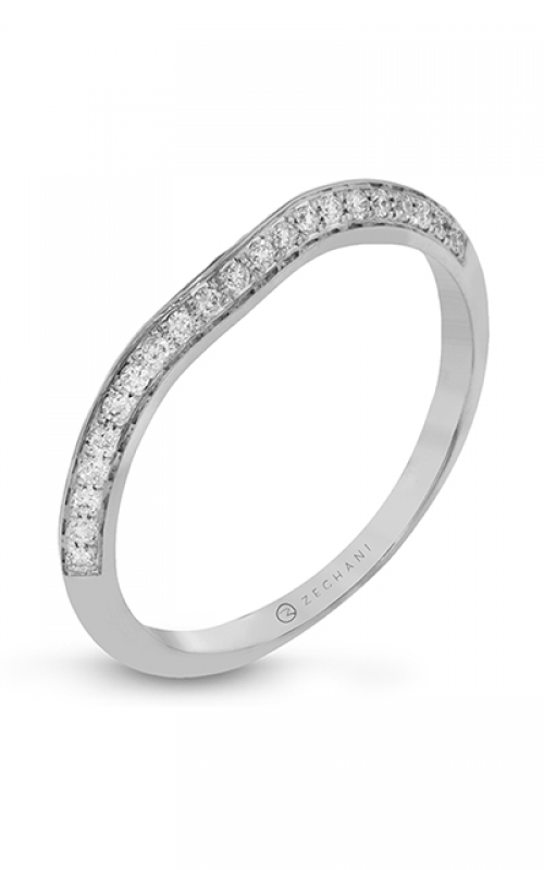 Zeghani Delicate Diva Wedding band ZR1227 product image