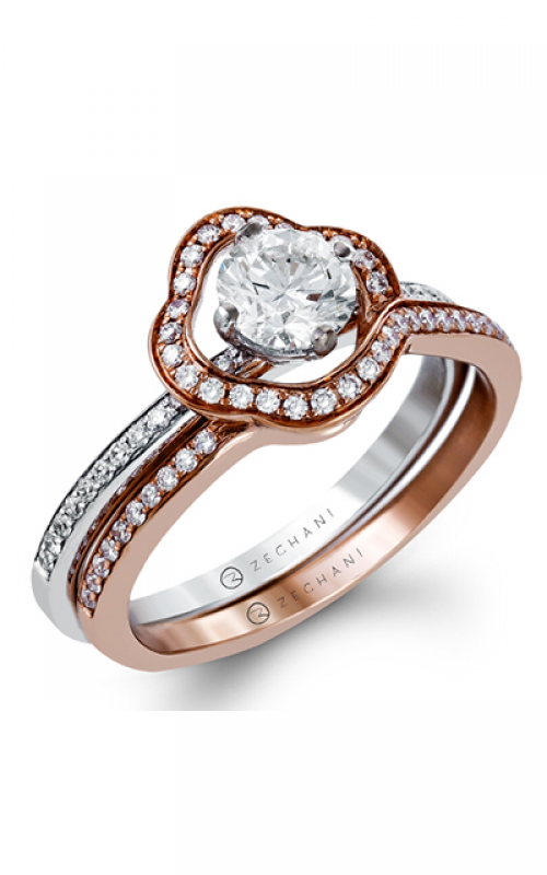 Zeghani Refined Rebel Engagement ring ZR1233 product image