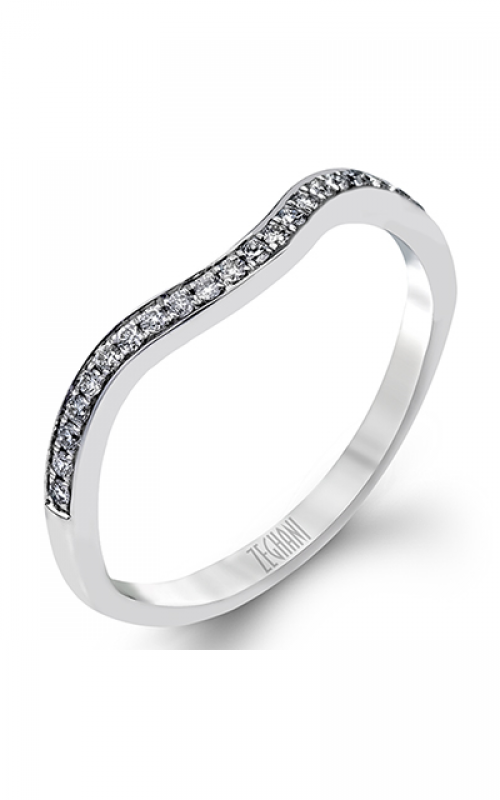 Zeghani Delicate Diva Wedding band ZR585 product image