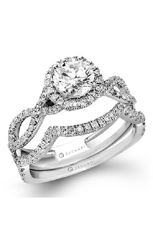 Zeghani Blindingly Beautiful Engagement ring ZR624 product image