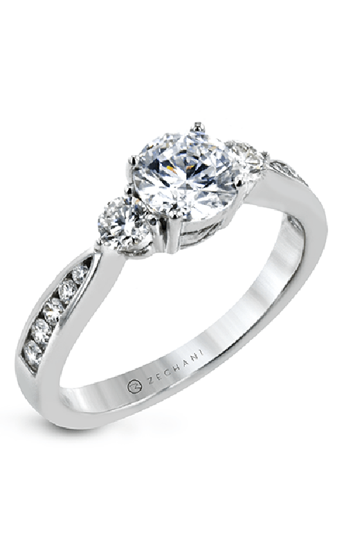 Zeghani Delicate Diva Engagement ring ZR30CHER product image