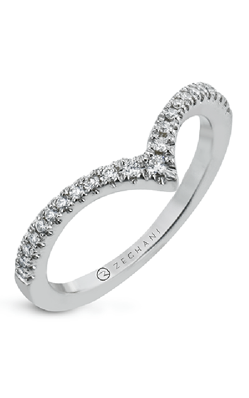 Zeghani Delicate Diva Wedding band ZR2169 product image