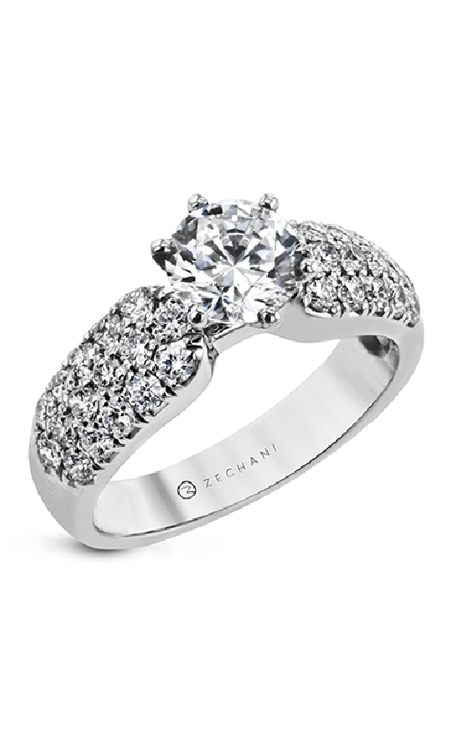 Zeghani Blindingly Beautiful Engagement ring ZR2105 product image