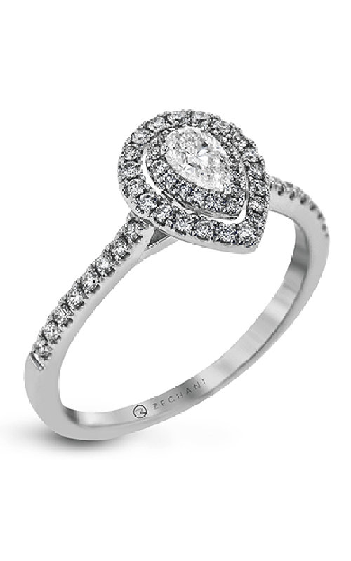 Zeghani Delicate Diva Engagement ring ZR1870 product image