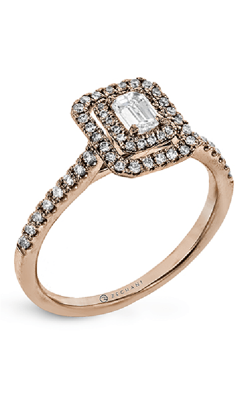 Zeghani Delicate Diva Engagement ring ZR1863-R product image