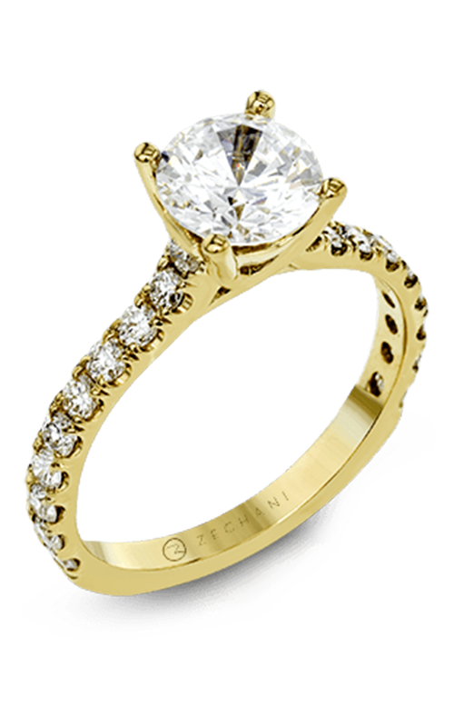 Zeghani Delicate Diva Engagement ring ZR1563 product image