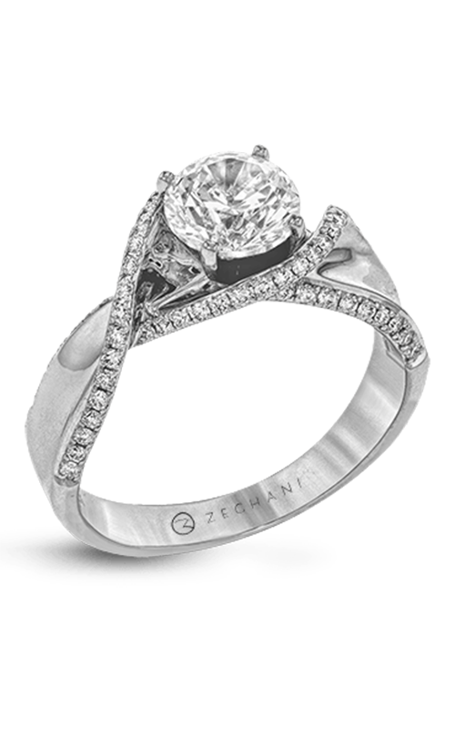 Zeghani Refined Rebel Engagement ring ZR1450 product image