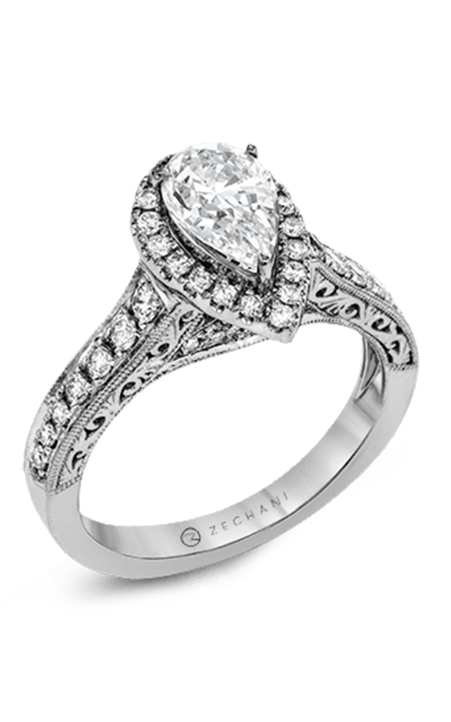 Zeghani Vintage Vixen Engagement ring ZR1383 product image