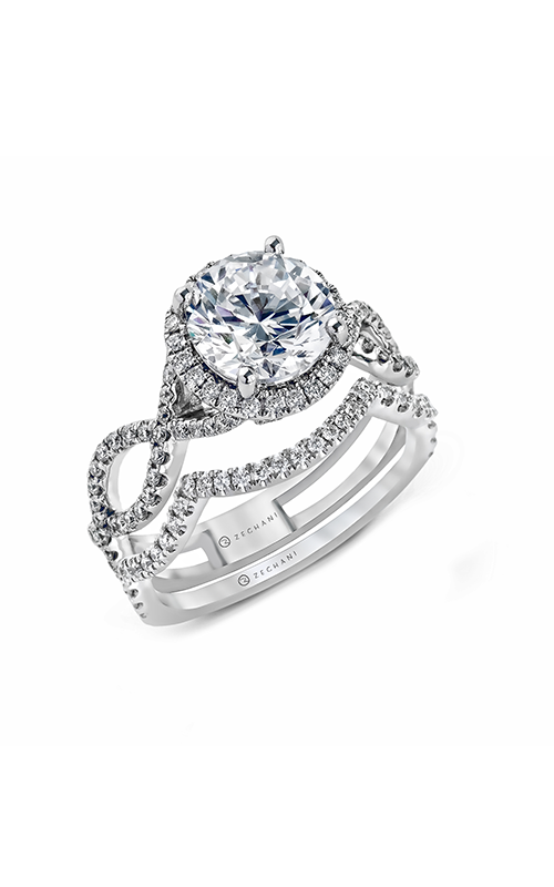 Beautiful Wedding Rings.Zeghani Zr622 Engagement Rings Medawar Jewelers