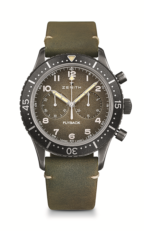 Zenith Cronometro Tipo CP-2 Watch 11.2240.405/21.C773 product image