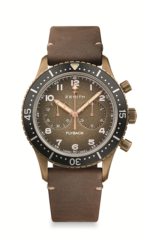 Zenith Cronometro Tipo CP-2 Watch 29.2240.405/18.C801 product image