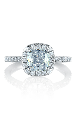 A.Jaffe Halo Engagement Ring MES577-196 product image