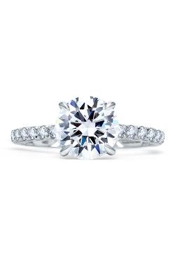 A.Jaffe Fancy Side Stone Engagement Ring ME1853Q-248 product image