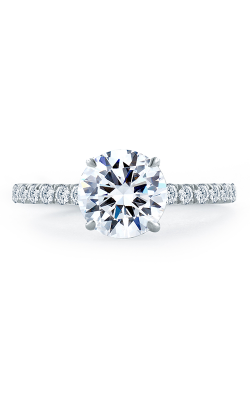 A.Jaffe Fancy Side Stone Engagement Ring ME1865Q-244 product image