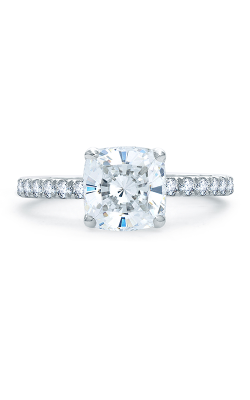 A.Jaffe Fancy Side Stone Engagement Ring ME1851Q-248 product image